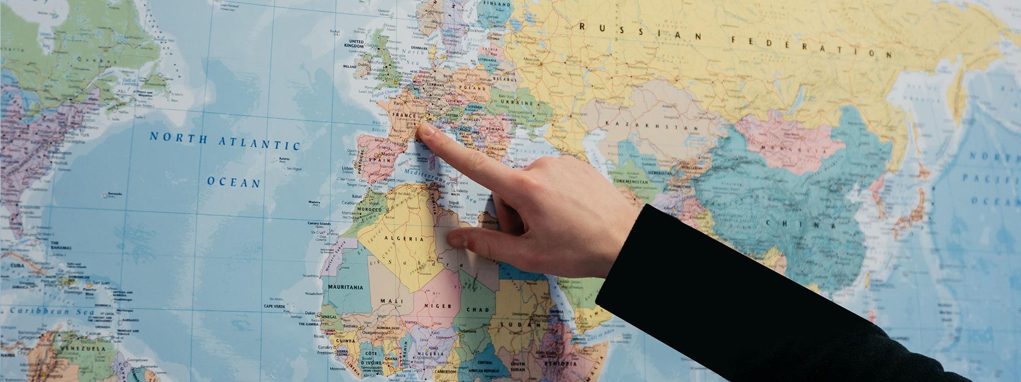 Geography header