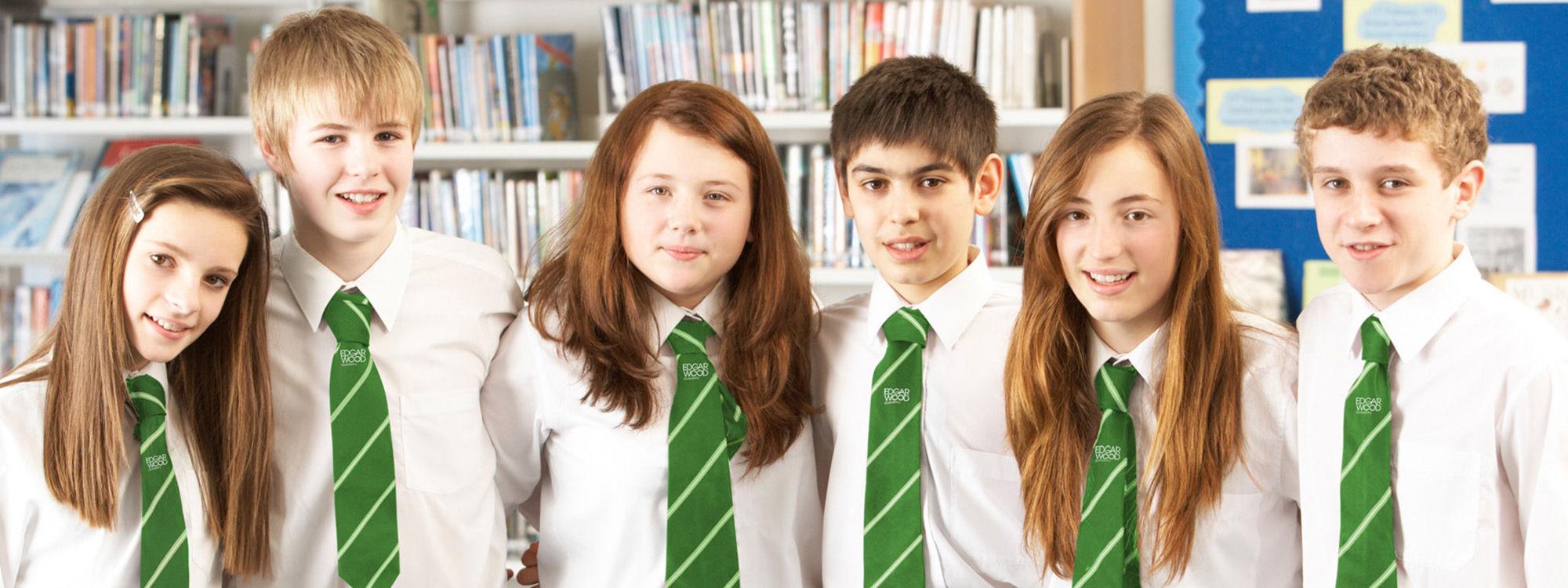 Students header